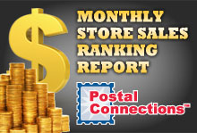 PCA Monthly Store Sales Ranking Report